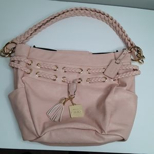 Miche Lux Dillon Demi Pink with braided handles